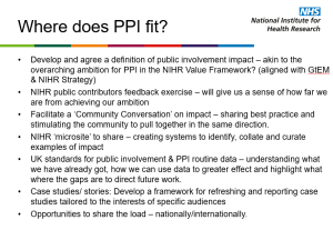 where does PPI fit in